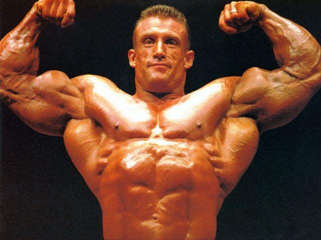 Dorian Yates bicepszszakadás után