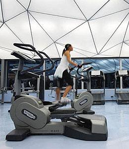 Modern edzőterem