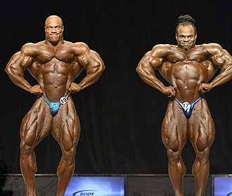 Phil Heath és Kai Greene