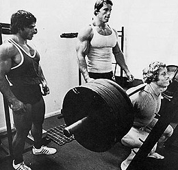 Arnold, Franco és Ken Waller