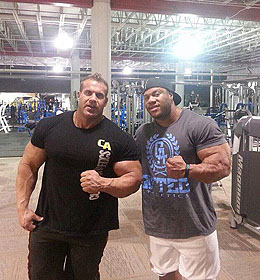Phil Heath és Jay Cutler