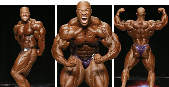 Phil Heath, a 2013-as Mr. Olympia