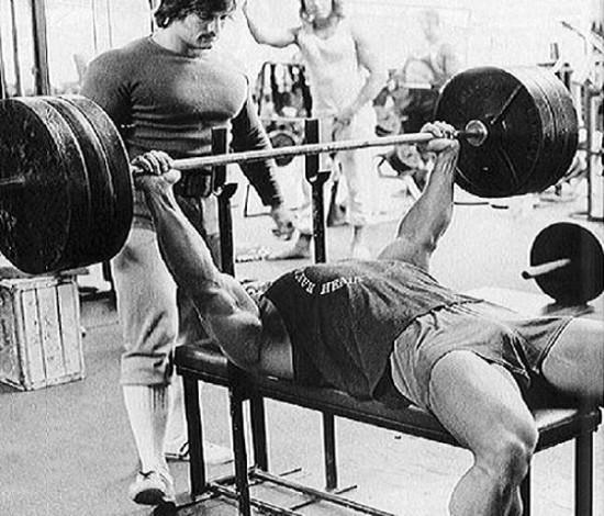 arnold bench press
