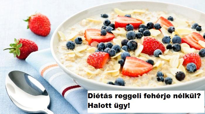 reggeli diéta