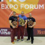 Mészáros Laci 292,5 kilós fekvenyomással 2. lett Moszkvában