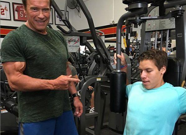 Arnold Schwarzenegger és Joseph Schwarzenegger