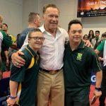 Arnold üzent az őt lerúgó idiótának, aki lehet, hogy megússza az ügyet