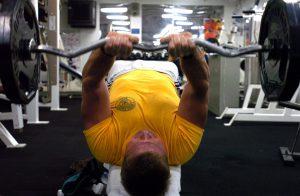 Tricepsz edzés