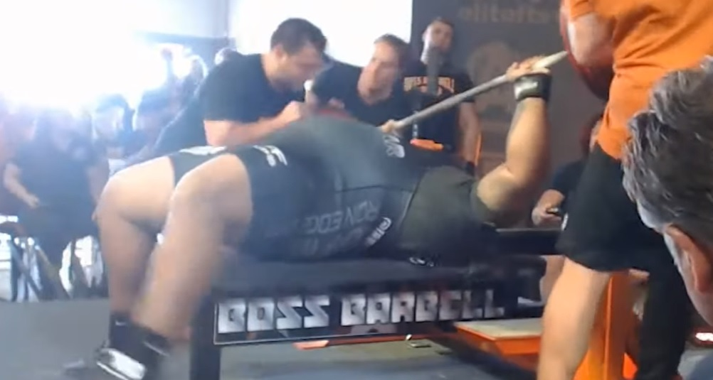 Julius Maddoxx bench press