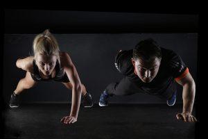 Fekvőtámasz, edzés otthon