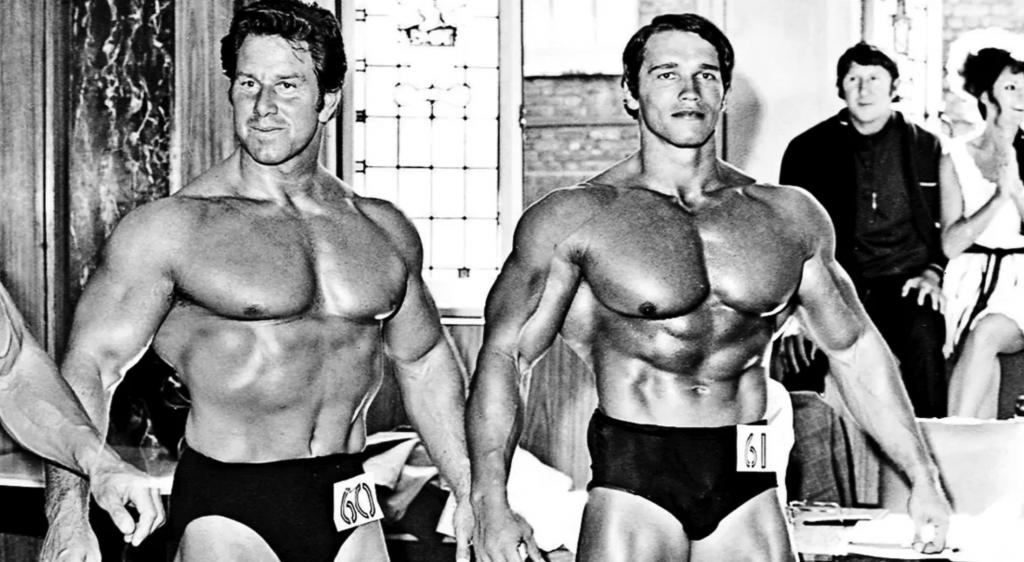 Reg Park, Arnold Schwarzenegger