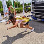Bordás Dorina első kamionhúzó versenyén aranyérmet szerzett