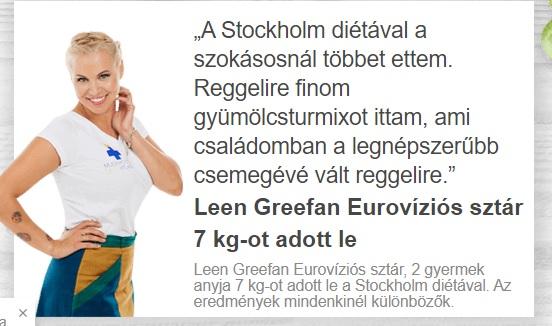Stockholm-diéta