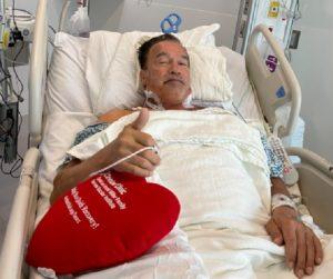 Arnold Schwarzenegger szívműtét