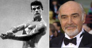 Sean Connery testépítés