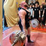 1160 kilóval új összetett világrekordot állított fel erőemelésben Petr Petráš