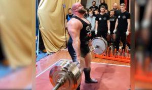 Petr Petrás világrekord