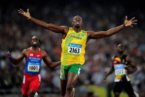 Usain Bolt étrendje
