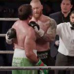 A Hegy visszavágott a szkanderes vereségéért, bokszban legyőzte Devon Larrattot